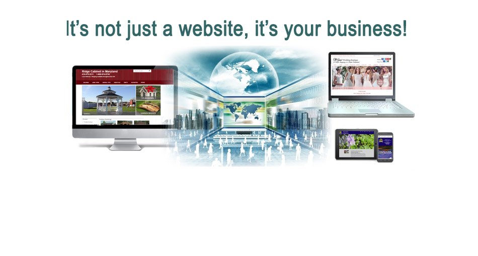 Responsive Website Development Baltimore County, Carroll County, Howard County, Harford County, Frederick County, Maryland